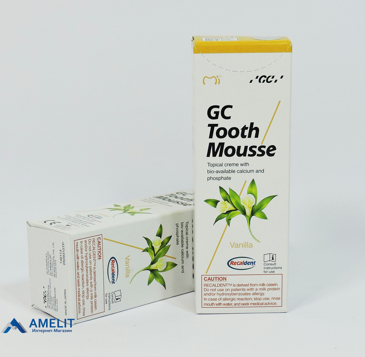 Тусс Мусс Ваниль(Tooth Mousse, GC), крем-паста 40гр/35мл