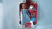"Говорящая кукла ""Принцесса Paolina"" с аксесуарами на батарейках ,34х23х9 см.Лялька музична розмовляюча ""Paolin"