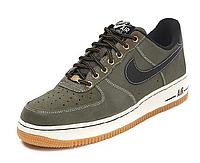 Мужские кроссовки Nike Air Force 1 low (grey/black) - 15Z
