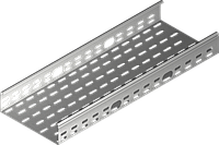 Лоток металлический Baks KCL/KCOL200H60/3 N, 0,7 mm