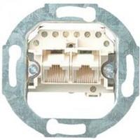 Механизм розетки телефонной двойной (параллельные выходы) UAE TAE 2х8 Gira 018700