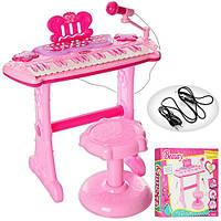 Детское пианино-синтезатор 107А со стульчиком
