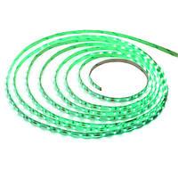 Светодиодная LED 3528 SMD лента, 60 LEDs/M, 4.8W, 12V, IP20, зеленый свет