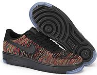 Мужские кроссовки  Nike Air Force 1 Flyknit low (electro) - 43Z