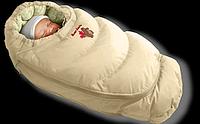 Пуховый конверт с подкладкой на синтепоне Alaska, Ontario Baby