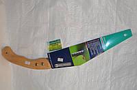 Пила ножовка садовая для работы в саду и на даче, изготовлена из высококачественной стали с деревянной ручкой