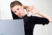 Офисные работники постоянно рискуют здоровьем