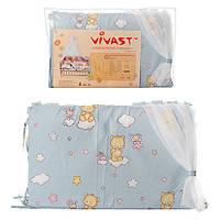 Защита для кроватки Мишки
