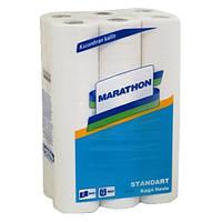 Marathon полотенца бумажные кухонные, 2 слоя, 12,5 м, 12 рулонов