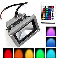 Прожектор LED 30w RGB+пульт 6500K IP65 1LED LEMANSO / LMP30-RGB, фото 1
