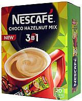 """Кофейная смесь Nescafe 3в1 """"Choco Nazelnut Mix"""""""