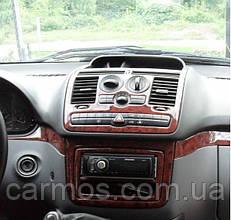 Декор панели (накладки на панель) Mercedes Vito 639 (мерседес вито 639) РАЗНЫЕ ЦВЕТА