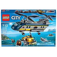 Конструктор LEGO Сити Вертолёт исследователей моря 60093