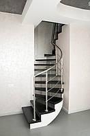Изготовление лестниц по индивидуальному проекту