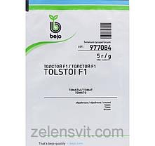 Семена томата Толстой F1 5 г (Бейо/Bejo) — ранний (70-72 дня), красный, индетерминантный., фото 3
