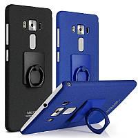 Пластиковый чехол Imak с кольцом-подставкой для Asus Zenfone 3 Deluxe(ZS570KL) (2 цвета)