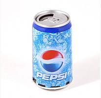 Стильная колонка банка пепси SPS PEPSI, FM радио, мощность 2,5 Вт, MP3/MP4, 11.5х6,7х6,7 см