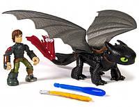 Игровой набор Spin Master Dragons Иккинг и дракон Беззубик (SM66594-1)
