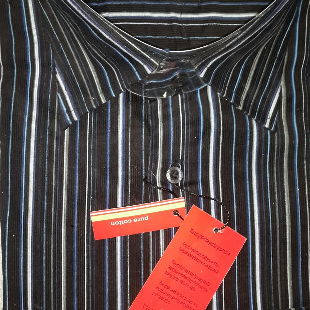 Вельветовая рубашка (размер 41)