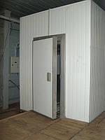 Монтаж холодильных, морозильных дверей