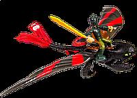 Набор игровой Dragons Иккинг в маске и дракон Беззубик в боевой раскраске (SM66594-2)