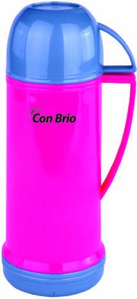 Термос Con Brio CB350 450 мл пластиковый, розовый, фото 2