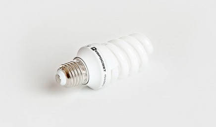 Люминесцентная бытовая лампа (КЛЛ) 11Вт 4200К  Е14