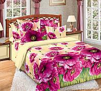 Комплект постельного белья полуторный, перкаль Кармен