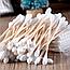 Ватные палочки для ушей Деревяные 80 шт, фото 6