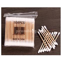 Ватные палочки для ушей Бамбуковые 100шт