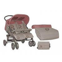 Прогулочная коляска Bertoni Star TWIN (beige&terracotta)