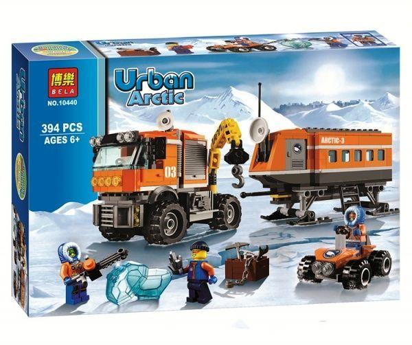 Конструктор Bela 10440 Urban Artic Арктическая мобильная станция