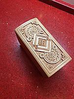 Шкатулка сувенірна дерев'яна ручної роботи , фото 1