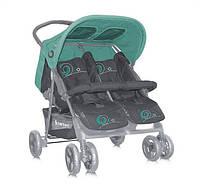 Прогулочная коляска Bertoni Star TWIN (green&gray)