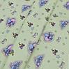 Ткань постельная 137367 Бязь (ПАК)НАБ. ГОЛД FM рис 1065-В ЗЕЛЕНЫЙ 220СМ