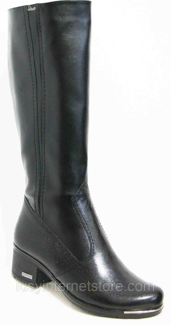 Сапоги женские зимние кожаные большого размера, женская обувь больших  размеров от производителя модель МИ5224 fe008b5941d