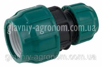 Муфта (фитинг) редукционная 50*32 мм для соединения полиэтиленовой трубы Турция