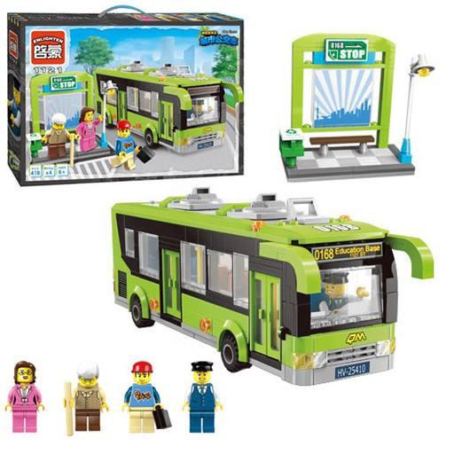 Конструктор BRICK 1121 автобус, 418 дет.