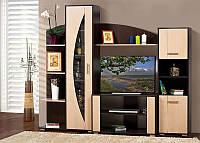 Мебель для гостиной Мадера, готовая стенка в гостинную 2270*1865*455