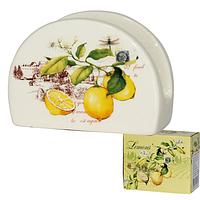 Салфетница 'Лимон' 9*7см