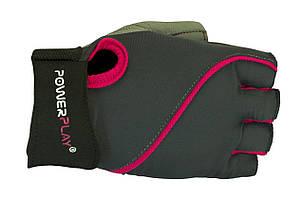Перчатки для фитнеса PowerPlay 1725 женские