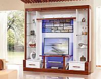 Мебель для гостиной Онтарио 1, корпусная мебель для гостинной комнаты 2100 х 2100 х 500