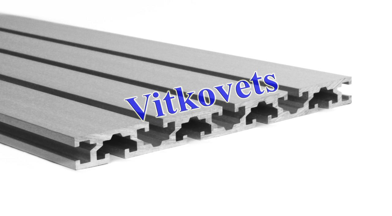 Станочный алюминиевый профиль для стола 15*180 2000мм
