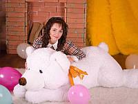 Игрушка для подарка Плюшевый белый медведь