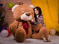 """Огромный коричневый плюшевый медведь """"Боря"""""""