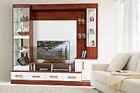 Мебель для гостиной Онтарио 2, готовый гарнитур в гостинную комнату, 2350*2200*550
