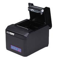 Принтер для печати чеков термопринтер чековый POS Sector E801 USB+RS232+Ethernet