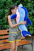 Большой плюшевый дельфин