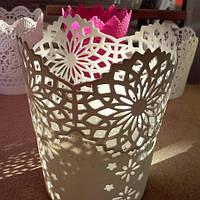 Кашпо для цветов пластиковые ф 15 № 524