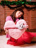 Мягкая подушка для подарка Дела сердечные